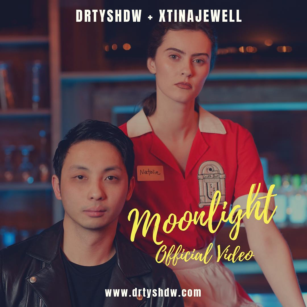 Watch Drty Shdw's Unconventional Romance In 'Moonlight' feat Xtina Jewell