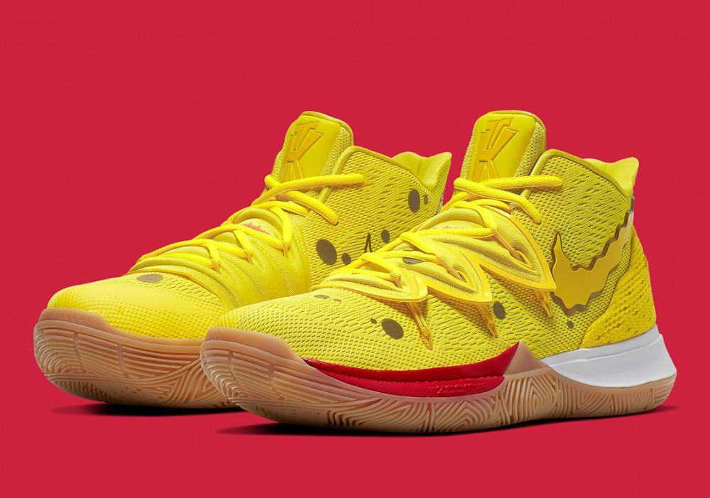 Nike Kyrie 5 x SpongeBob Pack Release Date Announced