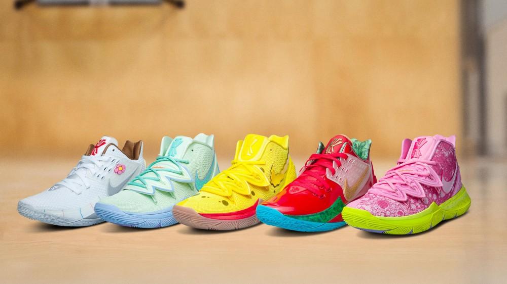 Nike Kyrie x SpongeBob Sneaker Collection: Full Release Details Revealed