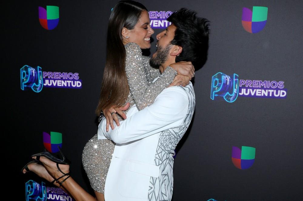 Sebastian Yatra & Tini Giving Us Relationship Goals, Plus More Things You Didn't See on TV at Premios Juventud