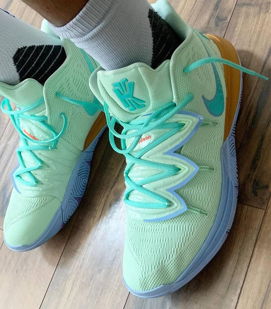 Cheap Nike KYRIE 5 x Spongebob, Fake