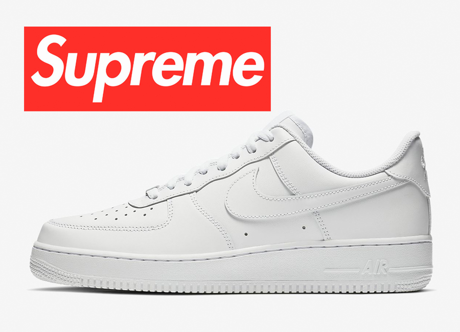 Supreme x Nike Air Force 1 Low Collab Rumored For Spring