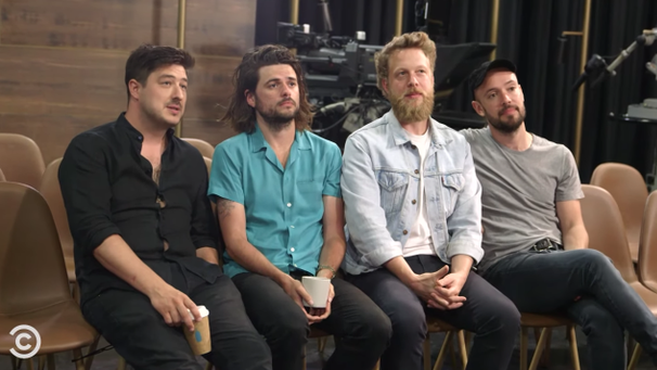 Watch Mumford & Sons Interview To Be David Spade Show's House Band