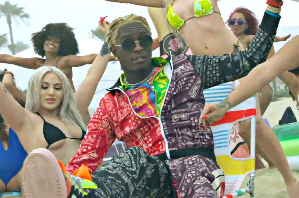 Young Thug & Gunna Have Fun in the Sun for Super Soaked 'Surf'  Watch