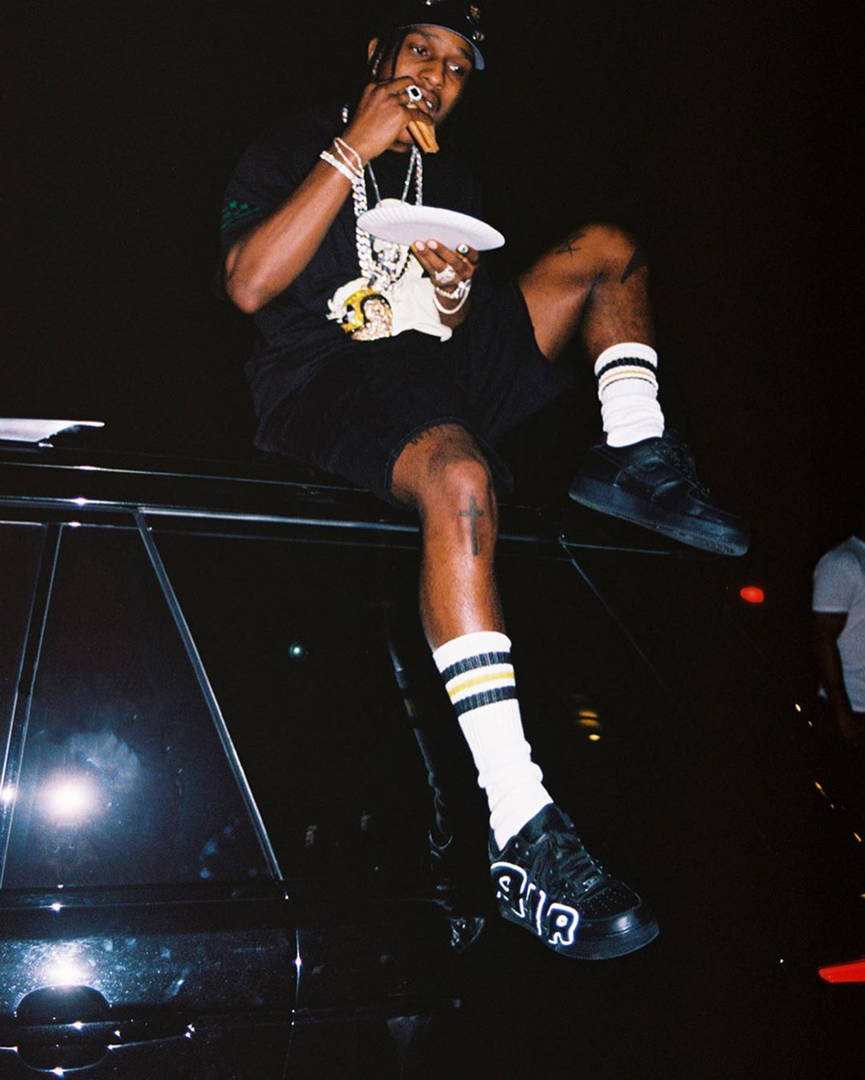 ASAP Rocky Previews CPFM x Nike Air Force 1 Low Collab In