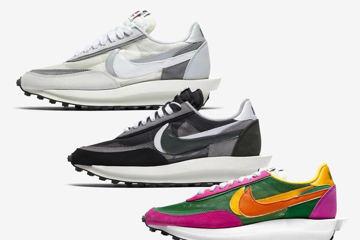 Sacai x Nike LDWaffle Pack Reselling