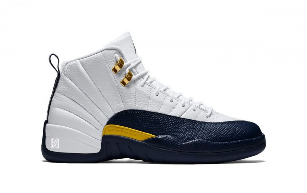 "Air Jordan 12 ""Michigan"" Release Update Revealed"