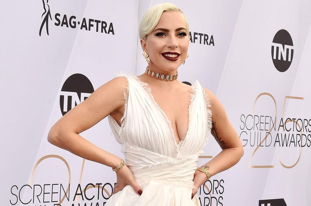 Lady Gaga Falls Off 'Enigma' Stage in Arms Of Little Monster