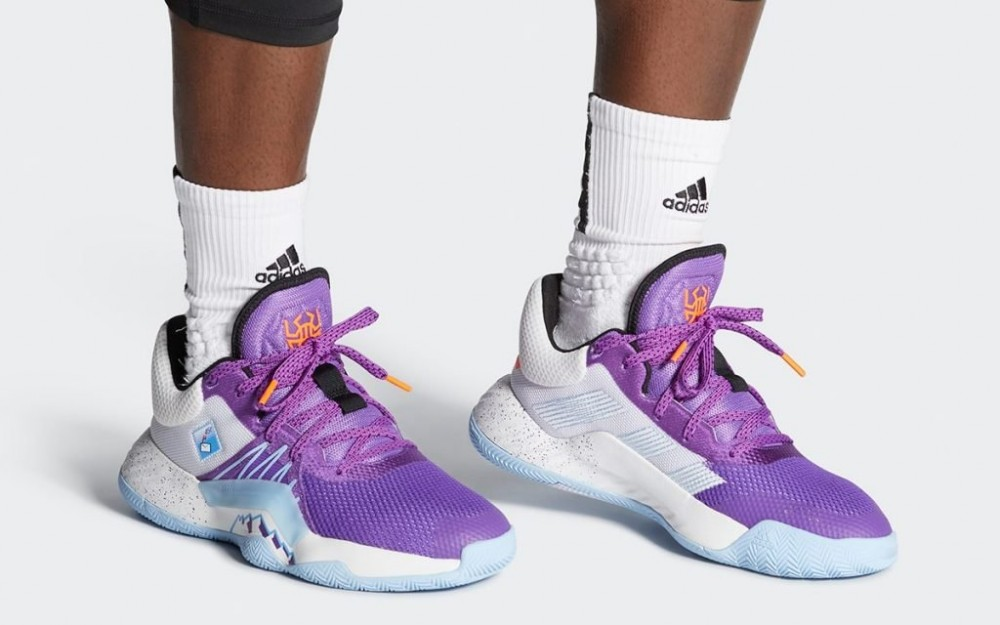 donovan mitchell shoes purple