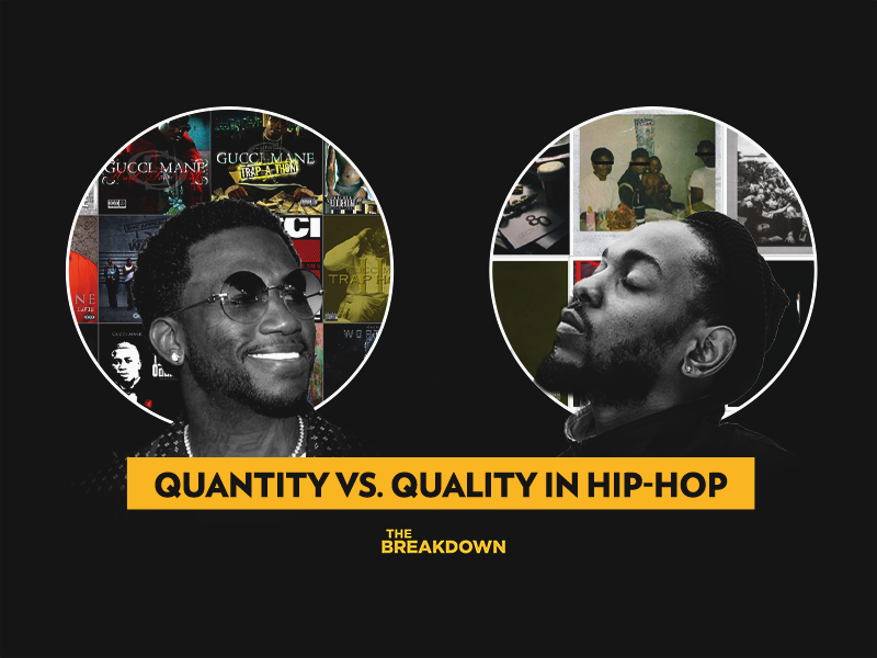 Gucci Mane Vs. Kendrick Lamar Approach To Dropping Albums | The Breakdown