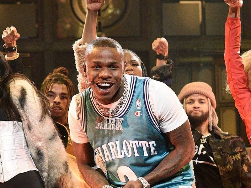 "DaBaby Performs ""BOP"" & ""Suge"" On 'Saturday Night Live'"