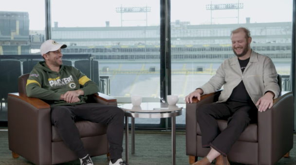 """Justin Vernon Tells Aaron Rodgers What """"Holocene"""" Is About"""