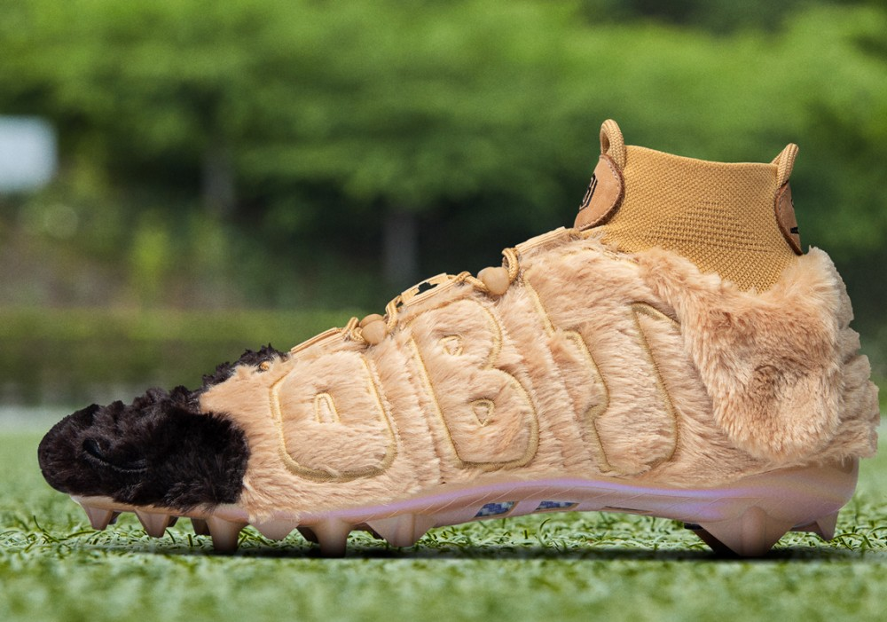 Odell Beckham Jr. Flexes Furry Dog-Inspired Cleats To Support Shelter