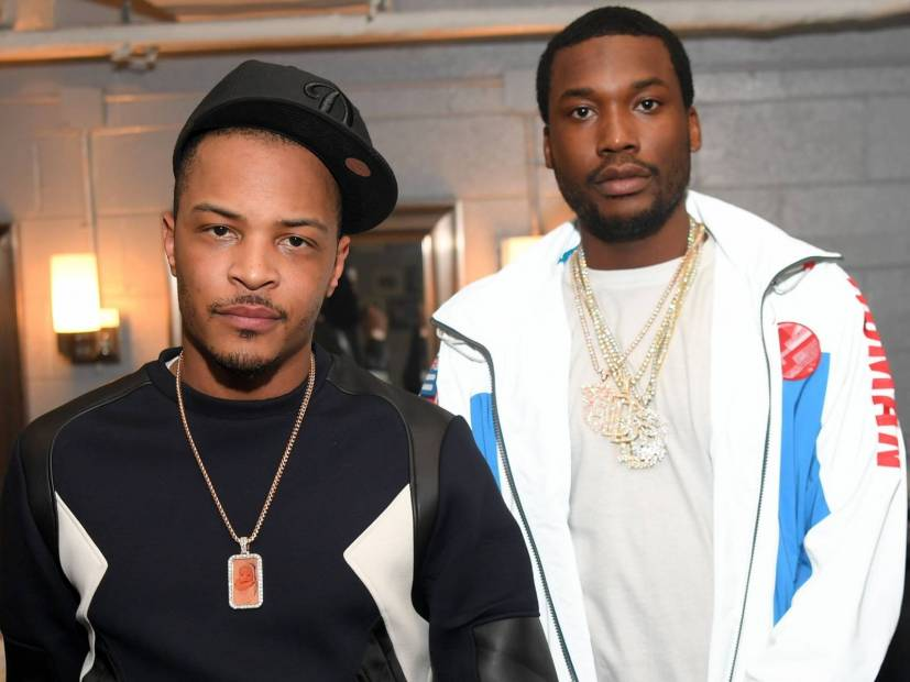 T.I. & Meek Mill Defend Nipsey Hussle's 'Legend' Status Following Wack 100's Comments