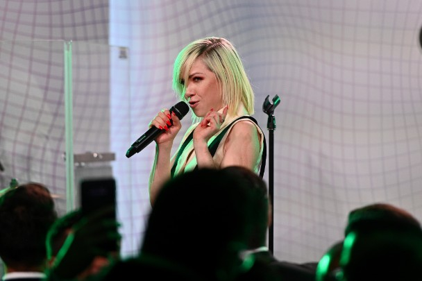 Watch Carly Rae Jepsen Debut A New Song At Ally Coalition Talent Show