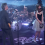 "Watch She & Him Play ""Christmas Day"" On 'Kimmel'"