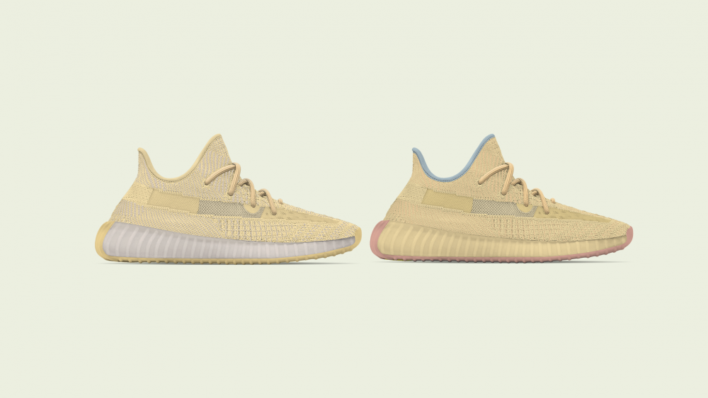 "Adidas Yeezy Boost 350 V2 ""Flax"" & ""Linen"" Coming Soon: First Look"