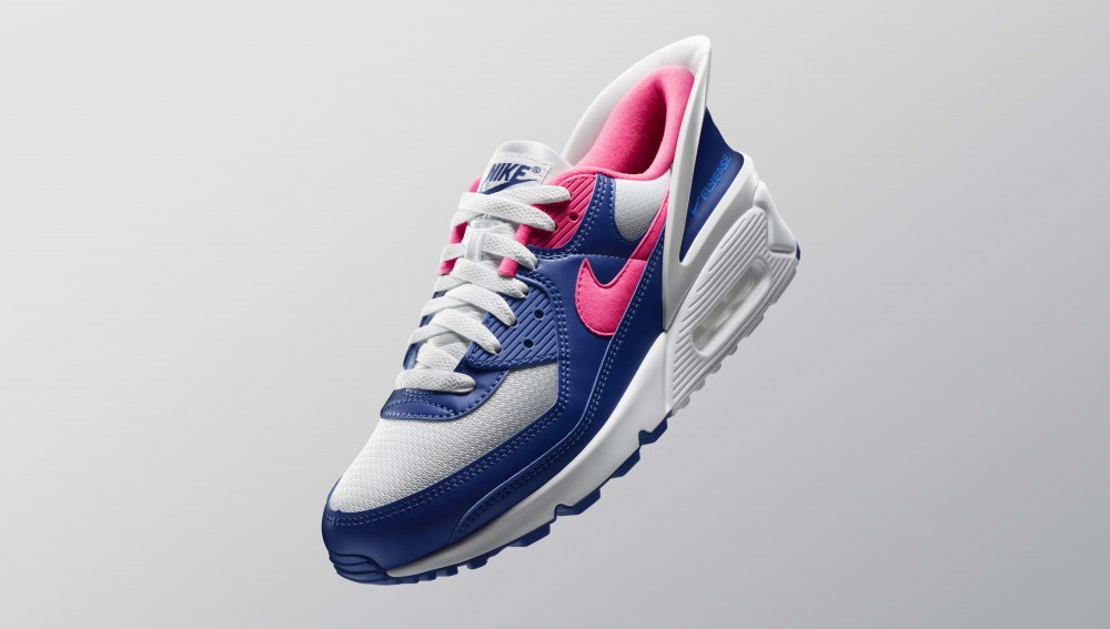 Nike Adds FlyEase Technology To The Air Max 90: Official Images