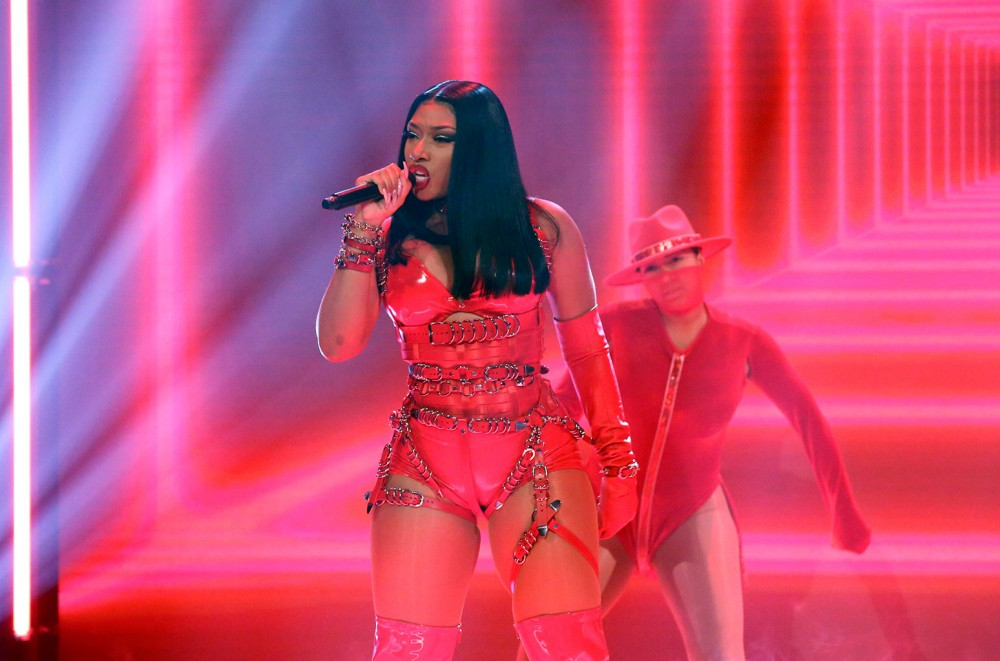 Megan Thee Stallion Dips It Low on 'Fallon' For 'B.I.T.C.H.' Performance: Watch