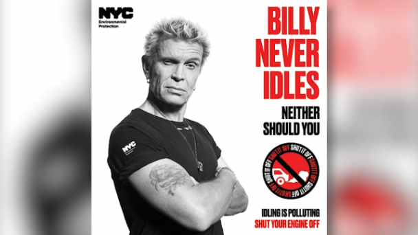 NYC Enlists Billy Idol For Anti-Idling Campaign