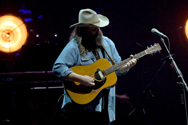 Watch Chris Stapleton Sing From The Audience At Tyler Perry's Madea Play