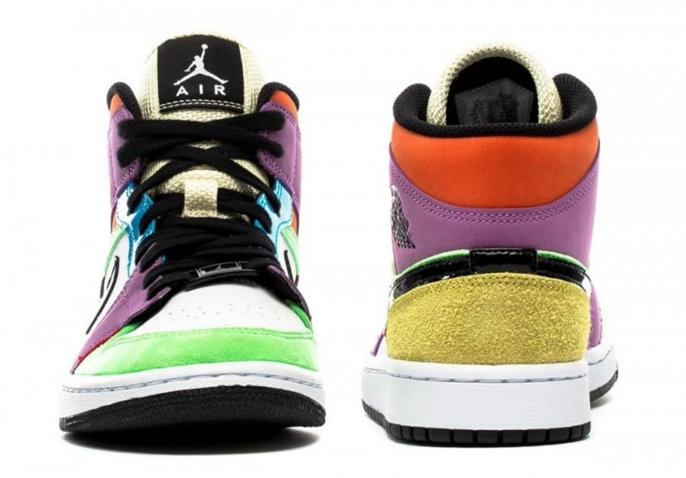 "Air Jordan 1 Mid ""Lightbulb"" Coming Soon: Photos"