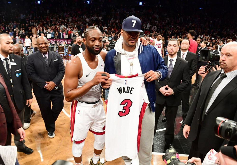 Carmelo Anthony & Dwyane Wade Reflect On Favorite Kobe Stories
