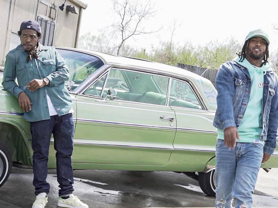 Curren$y & Fendi P Hit The Block In 'Swang' Video
