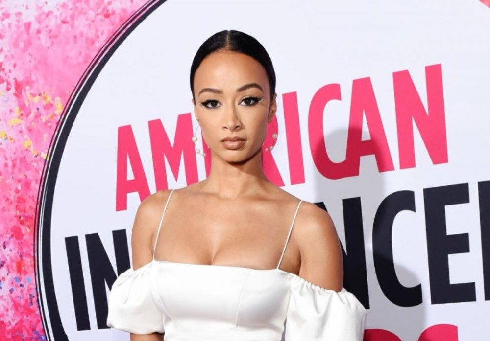 """Draya Michele Give Sexy """"Stay Home"""" COVID-19 PSA In Lingerie"""