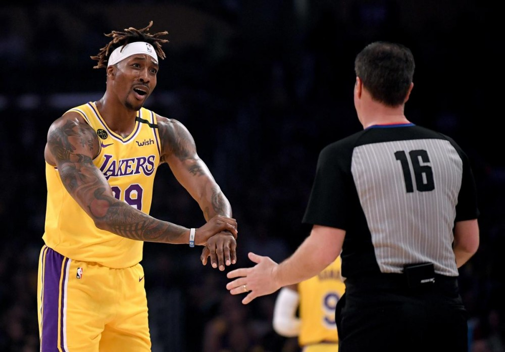 Dwight Howard Responds To Fan Who Says He Fell Off