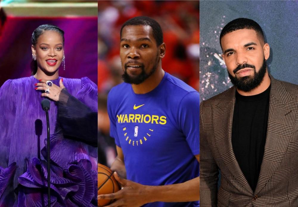 Rihanna Teases Kevin Durant About Coronavirus, Drake Intervenes