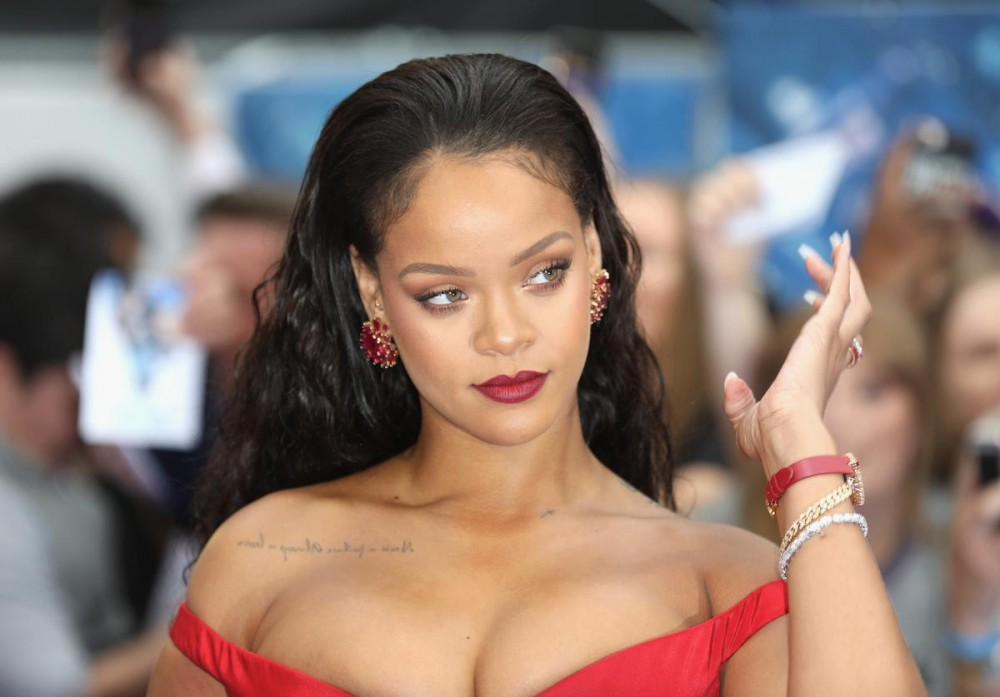 """Rihanna Won't Say When """"R9"""" Drops But She's """"Aggressively Working"""""""