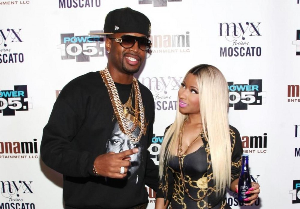 "Safaree Samuels Calls Troll ""Street Rat"" For Mentioning Nicki Minaj"