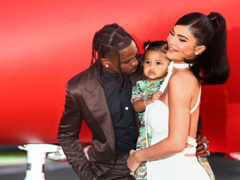 Travis Scott & Kylie Jenner 'Are Not Back Together,' So Says Kourtney Kardashian's Son
