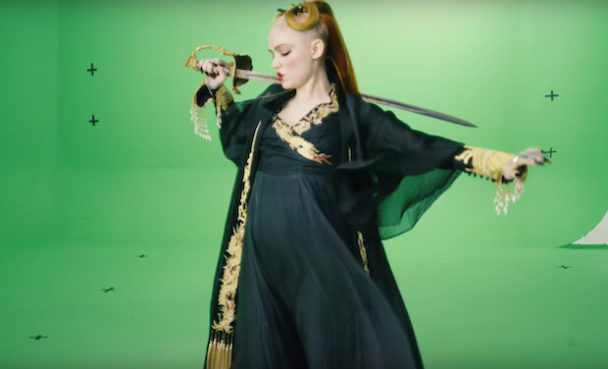 """Grimes Shares """"You'll Miss Me When I'm Not Around"""" Green Screen So You Can Make Your Own Music Video"""