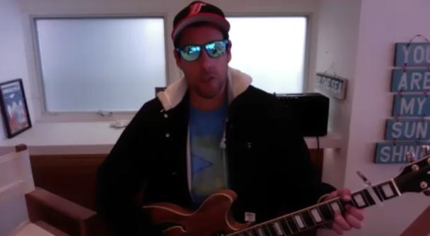 "Watch Adam Sandler Debut His ""Quarantine Song"" On 'Fallon'"
