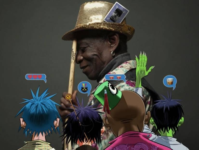 Gorillaz Honor Late Afrobeat Pioneer Tony Allen With 'How Far?' Single Featuring Skepta
