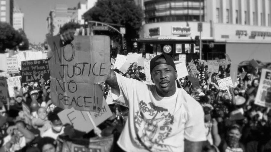 YG Drops 'FTP' Video Shot At Black Lives Matter Protest