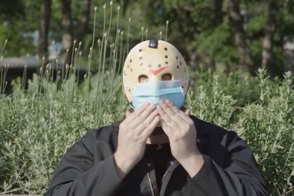 Watch Horror Villain Jason Voorhees in Funny 'Wear a Mask' PSA