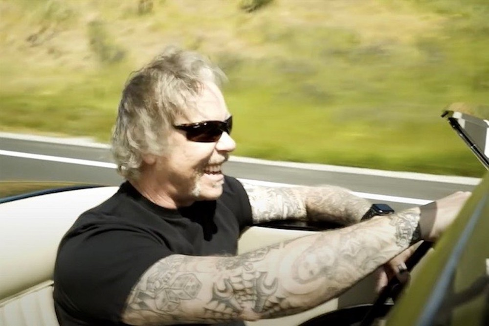 See Virtual Tour of James Hetfield's Car Collection Exhibit