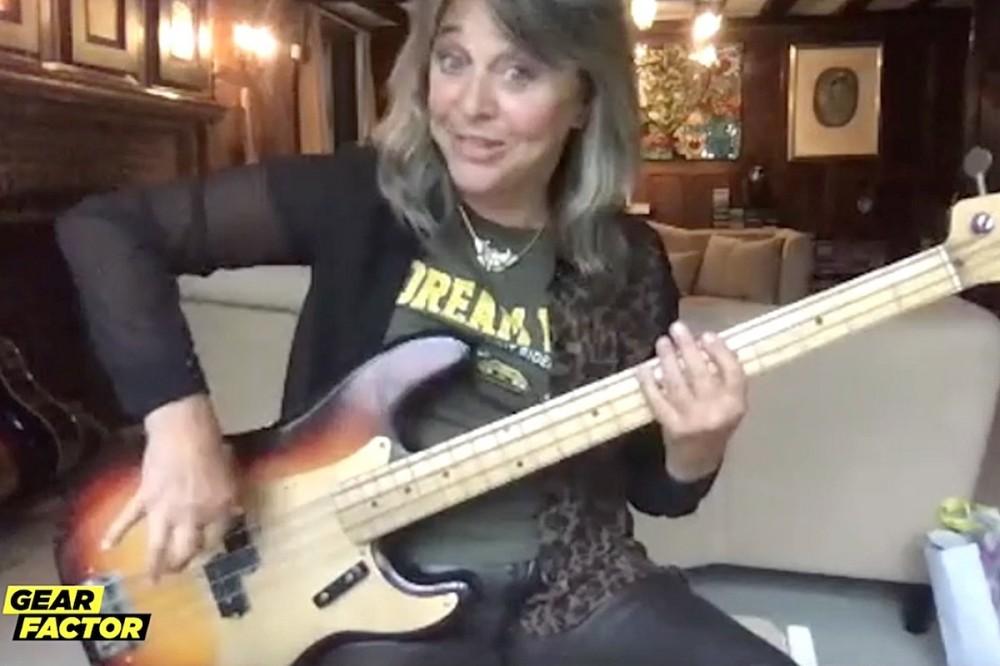 Rock Legend Suzi Quatro Plays Her Favorite Bass Riffs