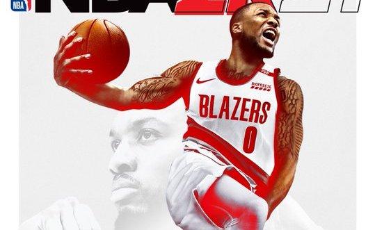 SOURCE SPORTS: Damian Lillard Covers NBA 2K21