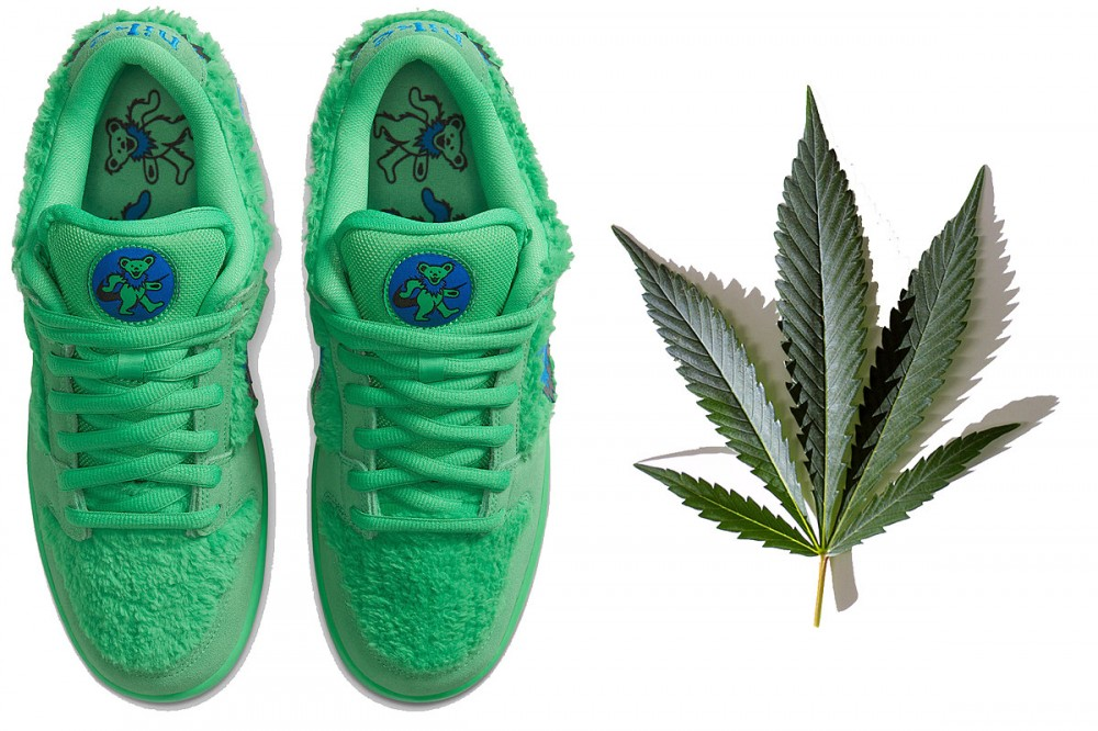 Nike's New Grateful Dead Sneakers Have a Hidden Pouch (For Weed?)