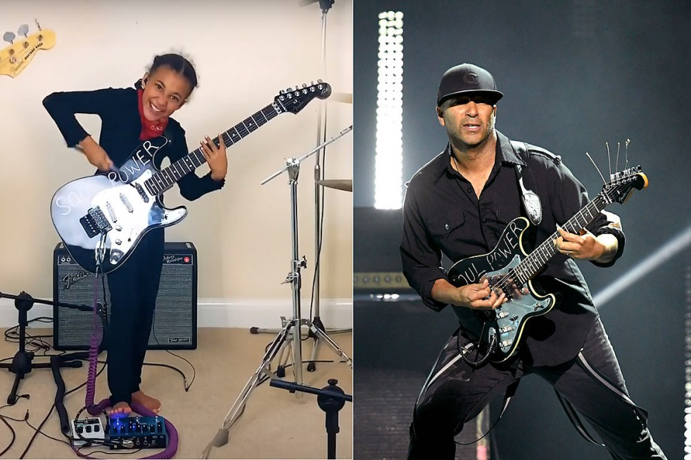 10-Year-Old Musician Plays Audioslave With Guitar Gifted by Tom Morello