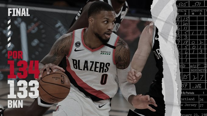 SOURCE SPORTS: Portland Trailblazers Win Nail Biter to Clinch Play-in Game vs. Memphis Grizzlies