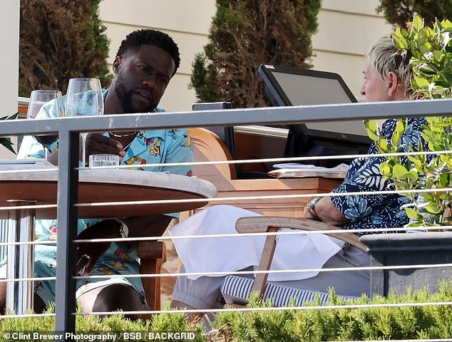 Ellen DeGeneres and Kevin Hart Spotted Together Amid Toxic Workplace Allegations