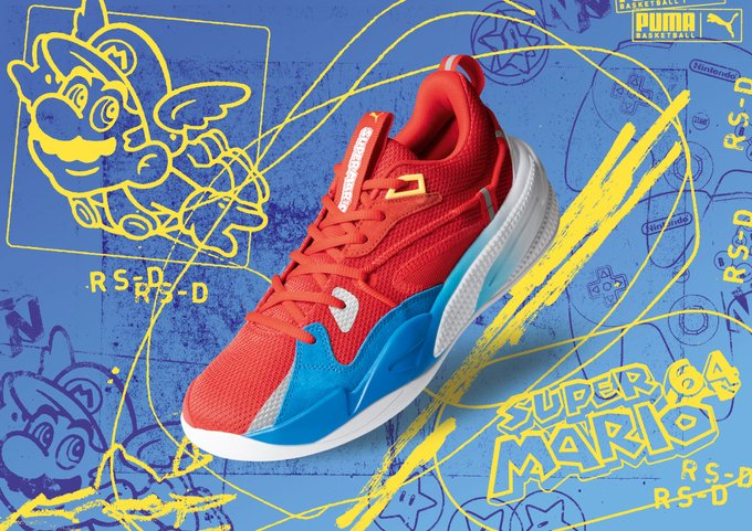 J. Cole's Signature Sneaker with PUMA Set to Drop in New Nintendo Colorway