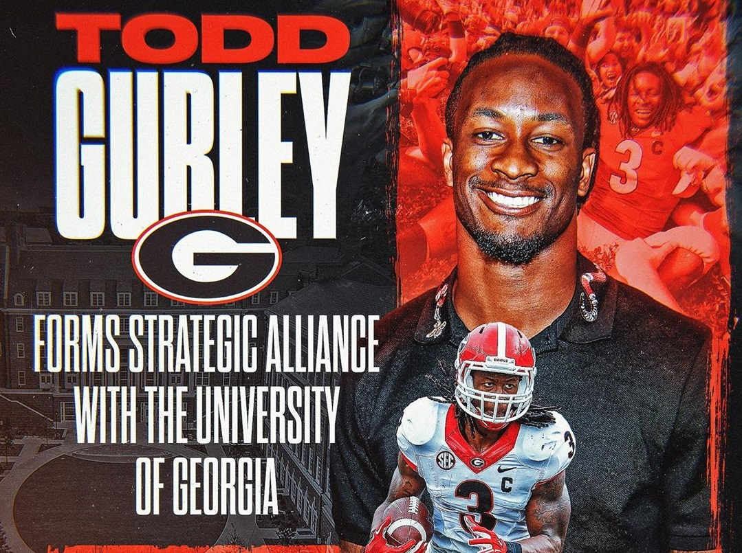 University of Georgia Athletic Association and Todd Gurley Form Alliance to Tackle Athletics, Social Justice, and Community