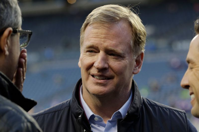 SOURCE SPORTS: Rodger Goodell Says NFL is 'Prepared' For Teams Not to Play a Full Season