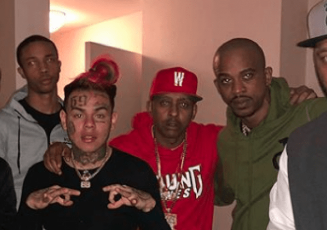 [WATCH] Gillie Da King Exposes Tekashi 6ix9ine's Call For An Interview, Gillie Denies Request